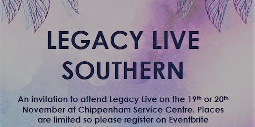 Legacy Live 19th/20th November 2019