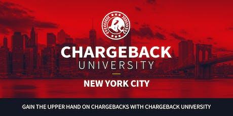 Chargeback University - NEW YORK CITY tickets