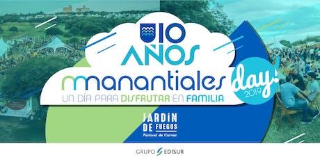 Manantiales Day 2019 - Especial 10 años entradas