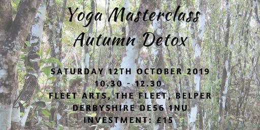 Autumn Detox - Yoga Masterclass