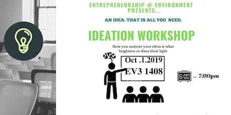Ideation Workshop tickets