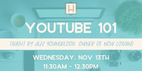 Youtube 101 tickets