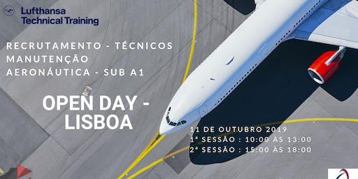 Open Day Lufthansa   Técnico de Manutenção de Aeronaves - Subcategoria A1