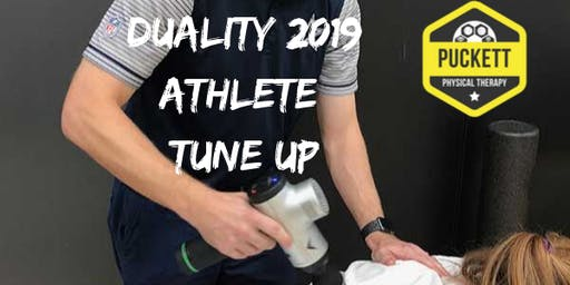 Athlete Tune Up Session at Duality 2019