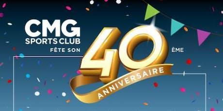 Convention CMG fête son 40ème Anniversaire billets