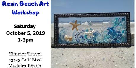 Resin Beach Art Workshop - Madeira Beach tickets