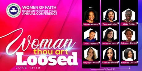Women of Faith Annual Conference 2019 tickets
