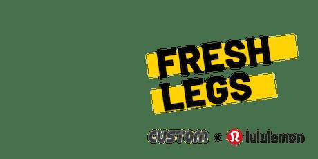 Fresh Legs Chicago: Custom x lululemon tickets
