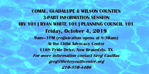 HIV 101 - Ryan White 101 - Planning Council 101