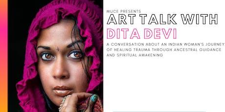 ART TALK WITH DITA DEVI tickets