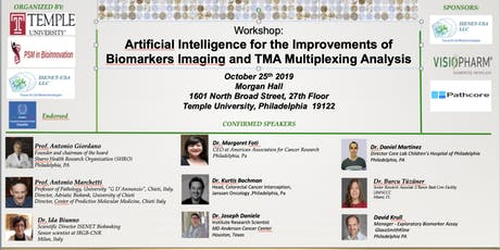 Artificial Intelligence for Improvements of Biomarkers Imaging and TMA Multiplexing Analysis tickets