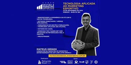 Tecnologia Aplicada a Gestão e  Marketing Esportivo ingressos