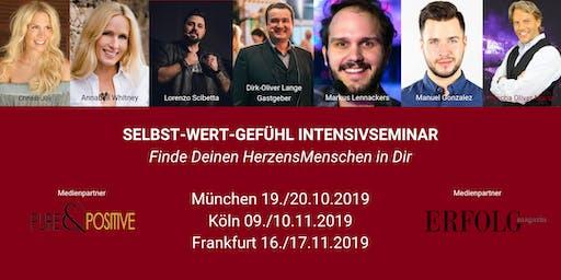 Das 2-Tage SELBST-WERT-GEFÜHL INTENSIVSEMINAR in FRANKFURT