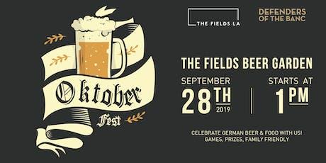 Oktoberfest at The Fields LA tickets