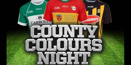 COUNTY COLOURS NIGHT // Freshers Week // Sunday Night