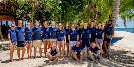 Volunteer in Fiji - UCL tickets