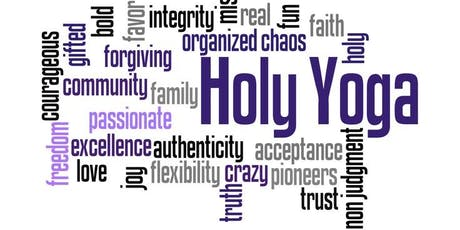 Holy Yoga @ Third Space   tickets