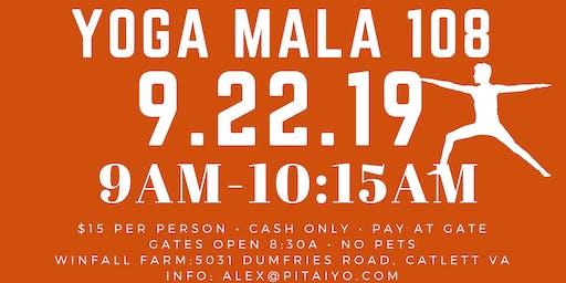 Morning Yoga on the Farm: Yoga Mala 108 Sun Salutations