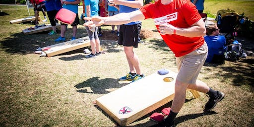 Corporate Challenge Circuit Cornhole Tournament at Back Forty