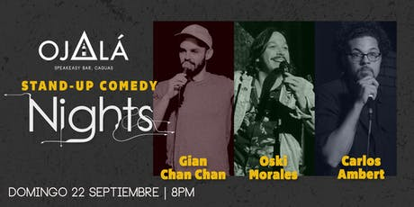 Stand up Comedy Nights en Ojalá Speakeasy Bar tickets