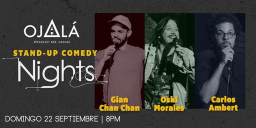 Stand up Comedy Nights en Ojalá Speakeasy Bar