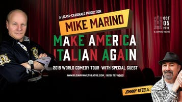 """Make America Italian Again -- 2019 World Comedy Tour"""
