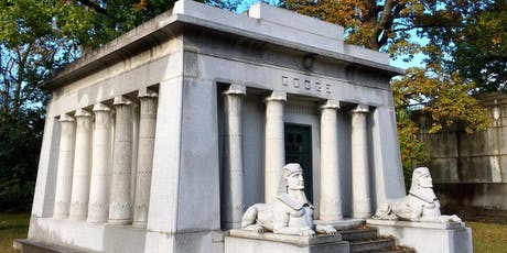 Preservation Detroit Woodlawn Cemetery Tour 2019 tickets