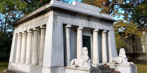 Preservation Detroit Woodlawn Cemetery Tour 2019
