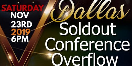 SOLDOUT CONFERENCE OVERFLOW tickets
