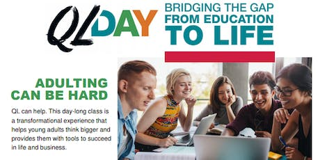 QL Day for Young Adults tickets