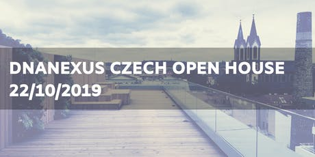 DNAnexus Czech Open House tickets