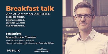 Breakfast Talk: Taking GovTech to the Next Level tickets