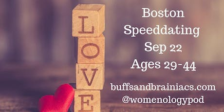 Speed Dating Party Ages 29-44- Boston Singles tickets