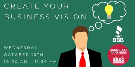 Create Your Business Vision: Why it's Important to your Bottom Line tickets