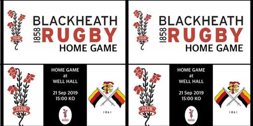 Blackheath v Richmond 21st Sept 2019