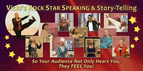 Rock Star Speaking and Story-telling: Your Story Matters! Day-Long Workshop in TORONTO tickets