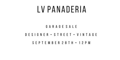 Lv Panaderia tickets