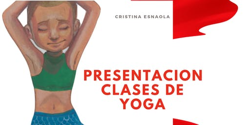 Presentacion clases de yoga