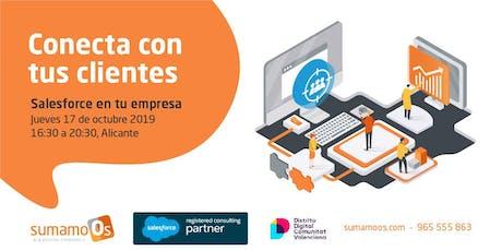 Conecta con tus clientes - Salesforce en tu empresa entradas