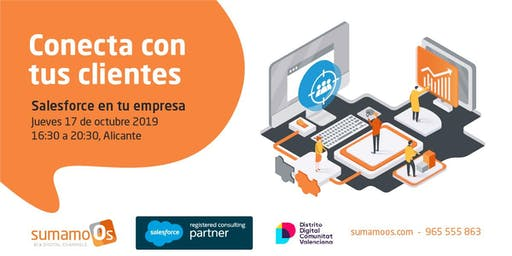 Conecta con tus clientes - Salesforce en tu empresa