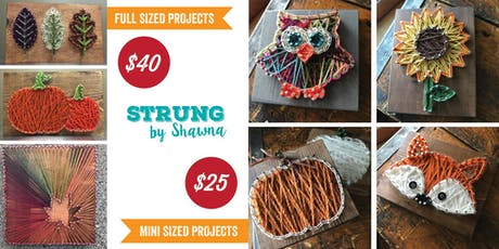 String Art: Fall Projects, Sandy Springs Brewing Co. tickets
