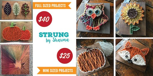String Art: Fall Projects, Sandy Springs Brewing Co.
