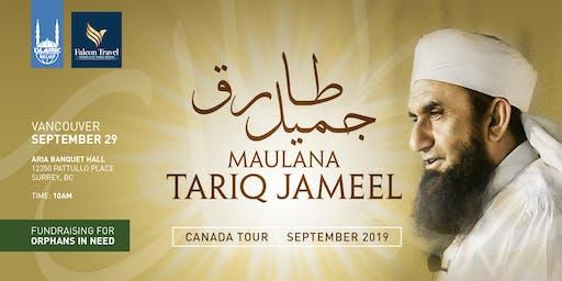 Maulana Tariq Jameel in Vancouver