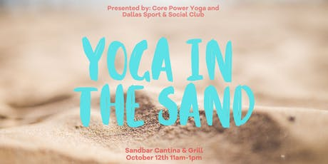 Yoga In The Sand tickets
