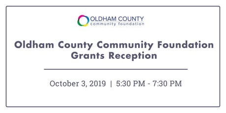 Oldham County Community Foundation Grants Reception tickets
