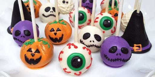 Sip & Bake - Cake Pops - Halloween Monsters & Ghouls