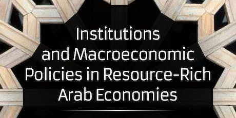 How to Avoid the Arab Resource Curse tickets