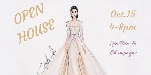 You're Invited! Bridal Gown Studio Open House