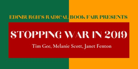 Stopping War in 2019 (Radical Book Fair) tickets