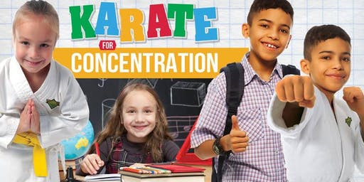 Karate For Concentration - FREE Class! Sept 19th